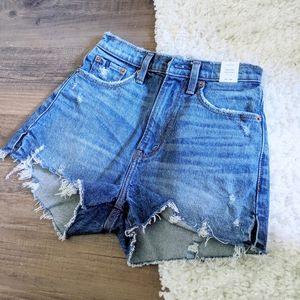Abercrombie & Fitch High Rise Mom Shorts